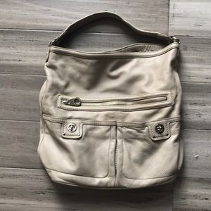 Marc By Marc Jacobs Gray Leather Large Hobo